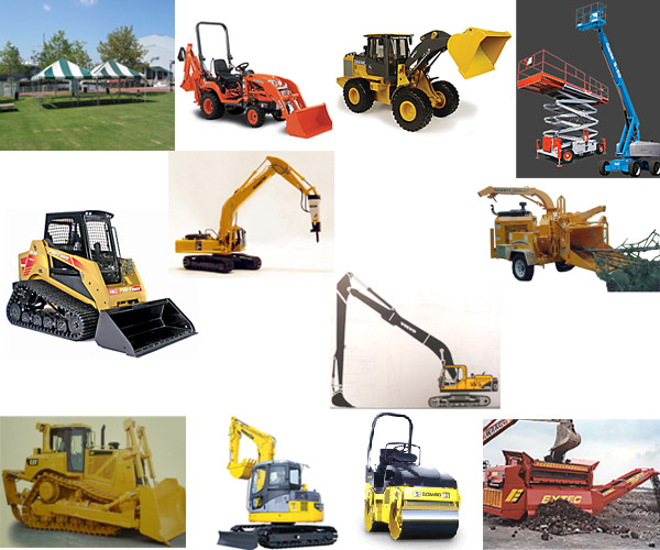 equipment rentals redding ca