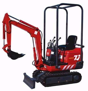 Where to find Excavator, Electric IHI-7JE  230V 50 A in Flemington