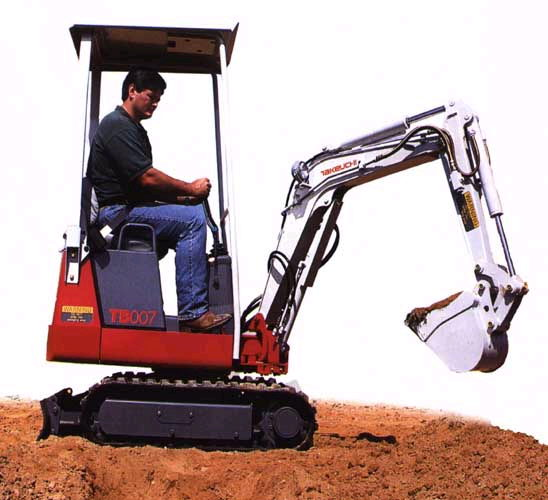 Where to rent EXCAVATOR, MINI  TB-007      1667 in Flemington NJ and western New Jersey