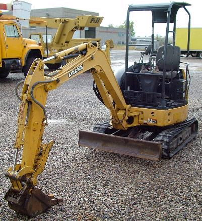 Where to find Excavator, Mini John Deere 17ZTS in Flemington