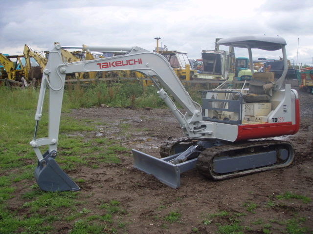 Where to find Excavator, Mini TB-025 5958 in Flemington