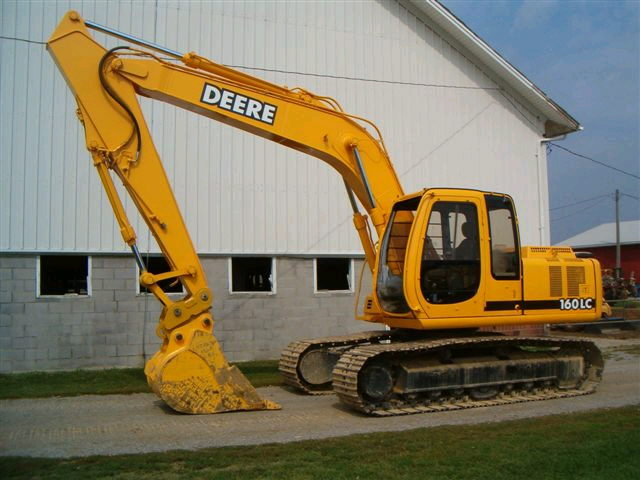 Where to find Excavator, John Deere 160LC in Flemington
