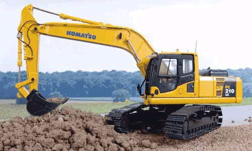 Where to find Excavator, PC 210-LC in Flemington