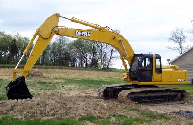 Where to find Excavator, JD 270LC in Flemington