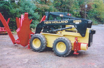 Where to find Skid Steer, LX 985 w Tree Spade in Flemington