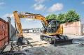 Where to rent Excavator, CASE CX135-SR in Flemington NJ