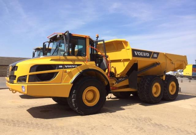 Where to find Dump Truck, Articulated 30T w Tailgate in Flemington