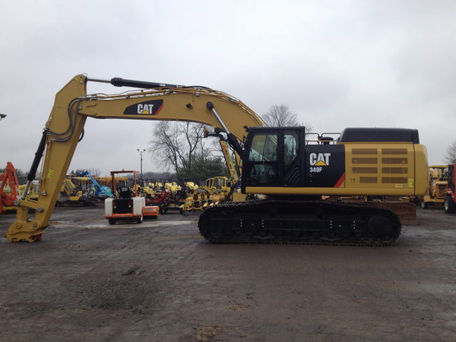 Where to find Excavator, CAT 349 F L in Flemington
