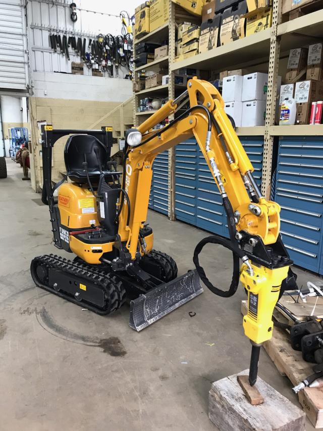 Where to find Excavator, Battery Powered IHI-9VXB in Flemington
